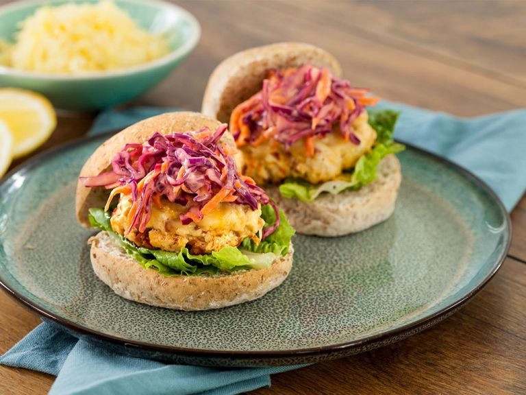 Chorizo Chicken Burgers With Red Cabbage Slaw Manor Farm Chicken Mince